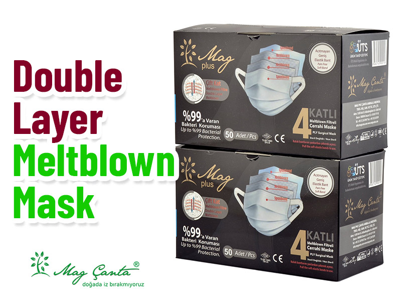 Double Layer Meltblown Mask